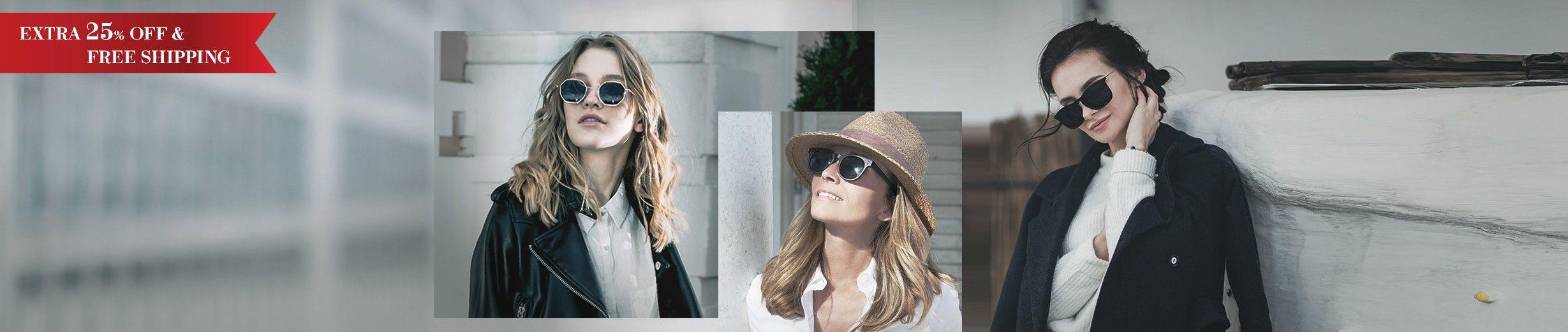Glassesgallery - Woman sunglasses banner